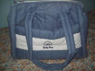 Vendo Bolso Bebé Baby Bag De Jean