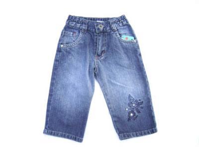 Comprar Jeans de Nenas y Nenes en la Feria La Salada Puesto en Punta Mogote