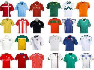 Replicas de Camisetas de Futbol de la Copa America Remeras de Argentina Brasil Real Madrid Barcelona