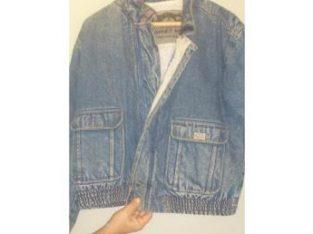 Camperas de Jeans con Corderito Comprar Modelos para Hombre Baratas Descuento al Interior