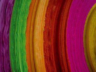Telas No Tejidas Gramajes Varios Colores Importador Textil Directo para Calzado Marroquineria etc.