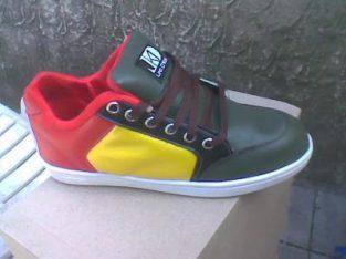 Zapatillas Skaters Suelas de Goma Capelladas Resistentes Plantillas Acolchadas
