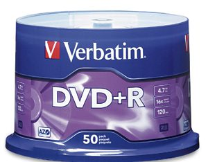 Saver Precios de DVD Virgen Precio y Marca por Cantidad y a Partir de Cuantos