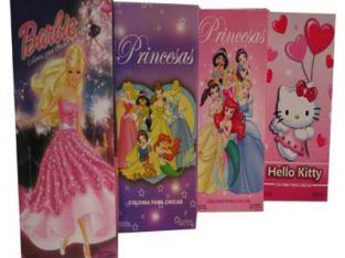 Colonias para Nenas Princesas Barbie Kitty y Otros Personajes de la Tele