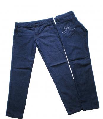 Jeanes Chupines para Nenas Elastizados Y De Babies Colores Negro Y Azul Talles Especiales