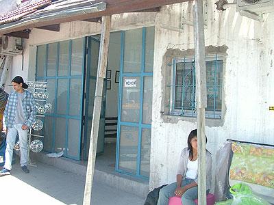 En la feria funciona una sala de primeros auxilios
