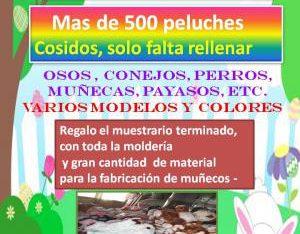 Munecos Economicos Lotes de Peluches Cosidos Regalos Molderia Fabrica Originales